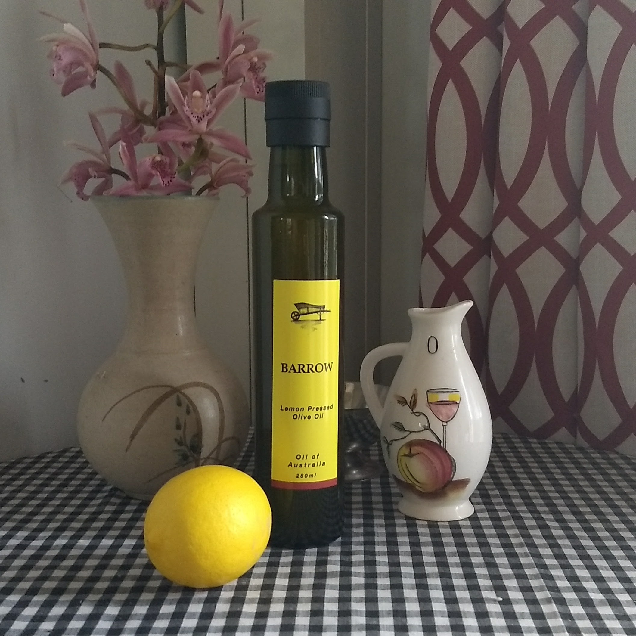 Pressed Lemon Olive Oil 250ml