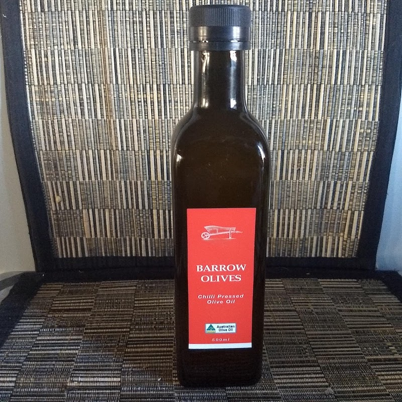 Pressed Chilli Olive Oil 500ml