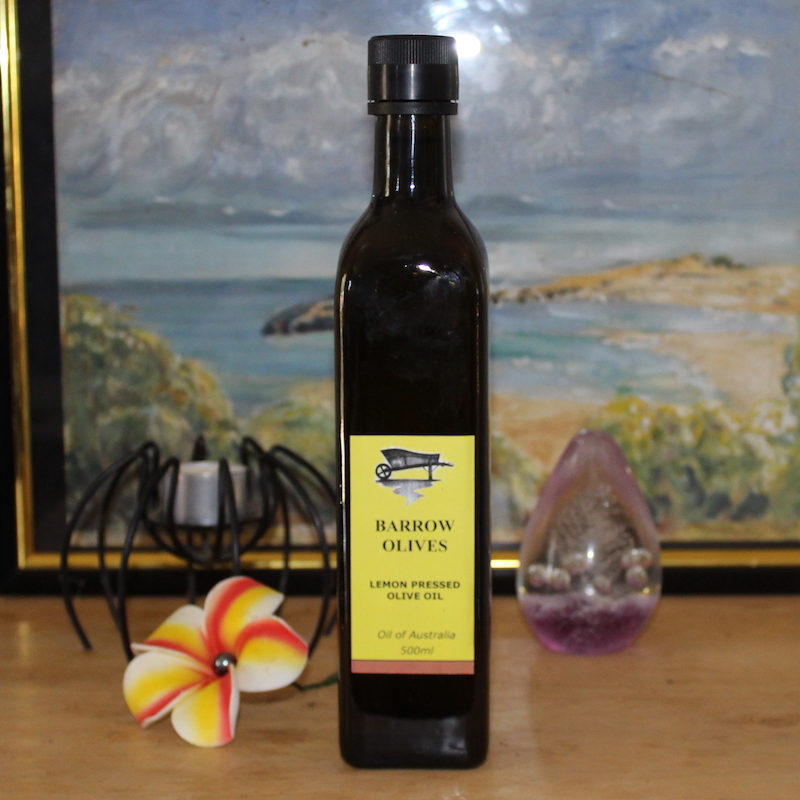 Pressed Lemon Olive Oil 500ml