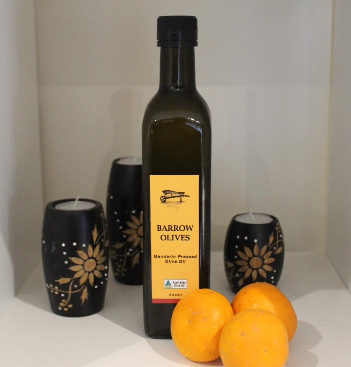 Pressed Mandarin Olive Oil 500ml